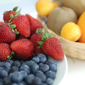 Fresh fruit selections