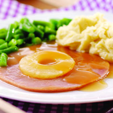 Gammon and Pineapple